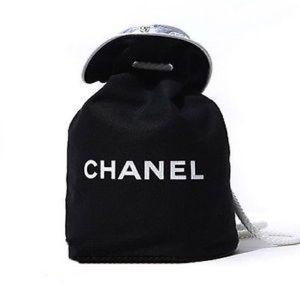 Large drawstring cosmetic bag